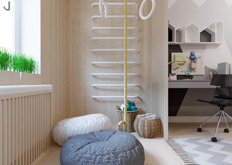 Детская комната для двоих разнополых детей - дизайн 3 фото 5