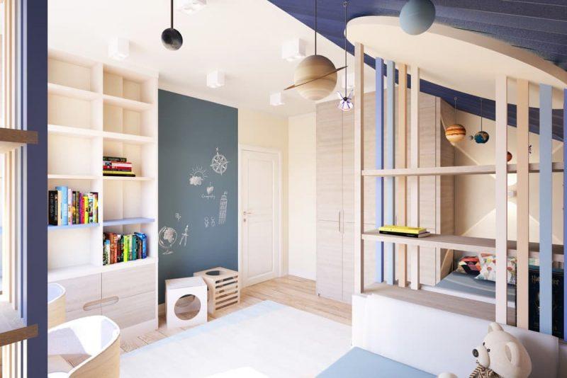 Детская комната для двоих детей - дизайн 2 фото 4