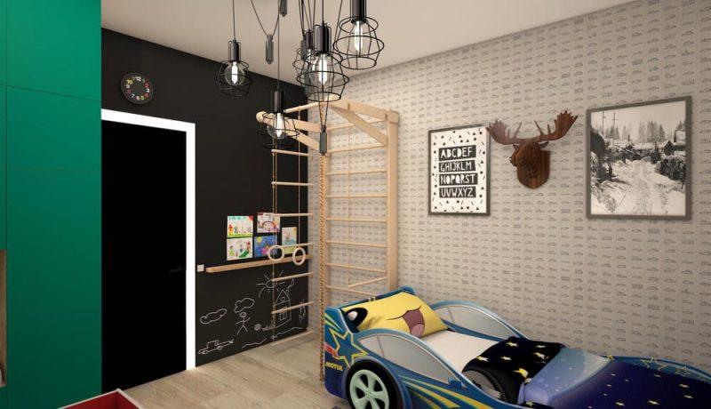 Детская комната для двоих мальчиков - дизайн 1 фото 2