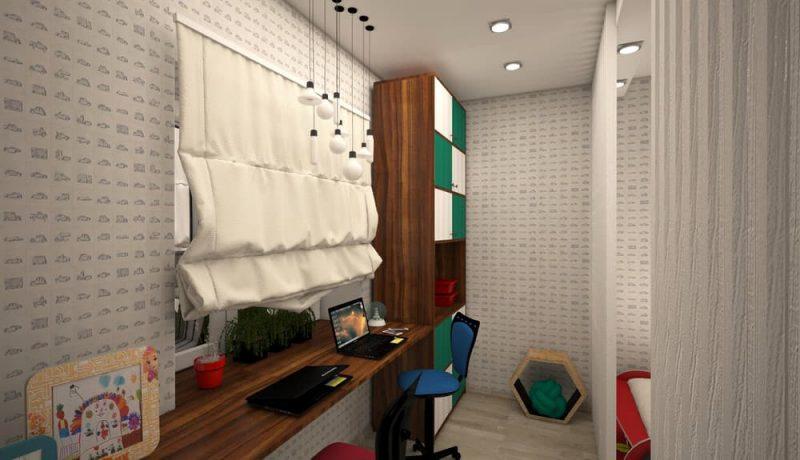Детская комната для двух мальчиков - дизайн 1 фото 3