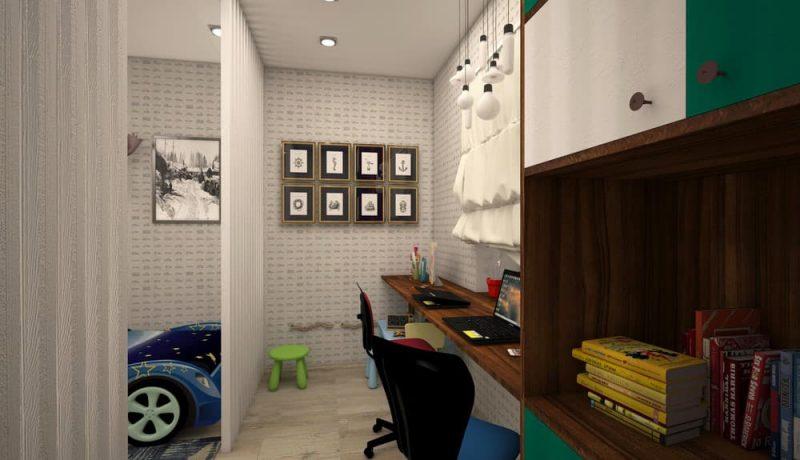 Детская комната для двоих мальчиков - дизайн 1 фото 4
