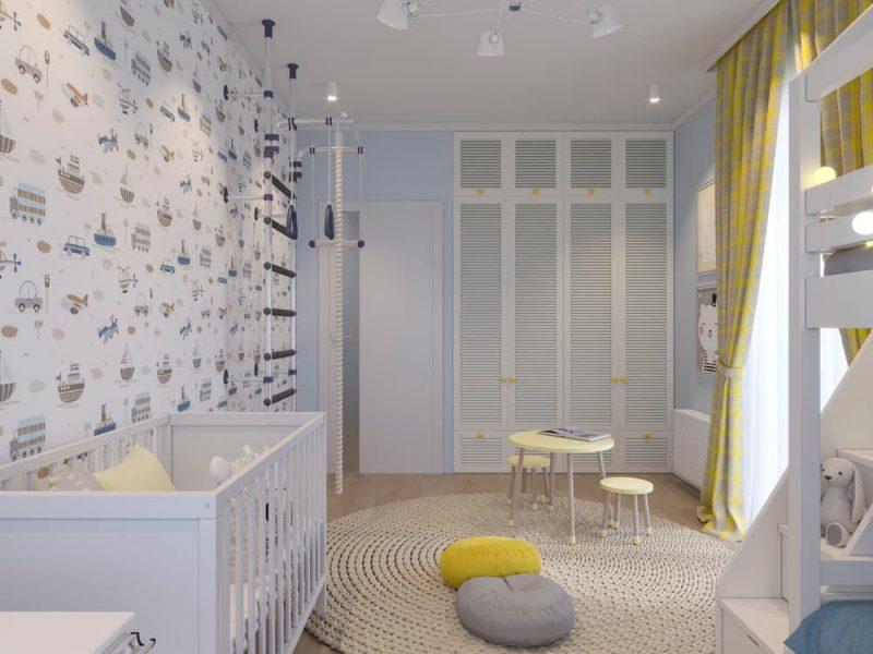Детская комната для двух мальчиков - фото 53