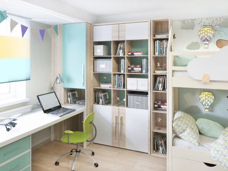 Детская комната для 2 мальчиков - дизайн 4 фото 3
