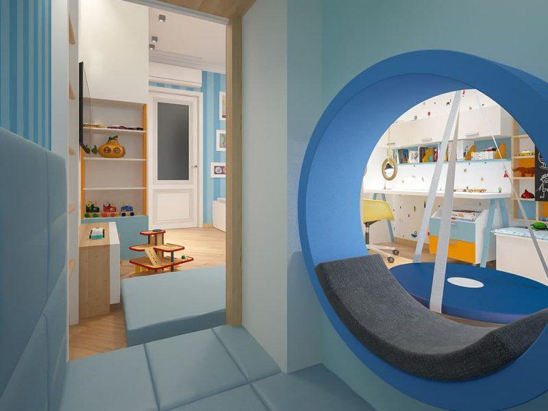 Дизайн детской комнаты для двоих мальчиков - проект 2 фото 4