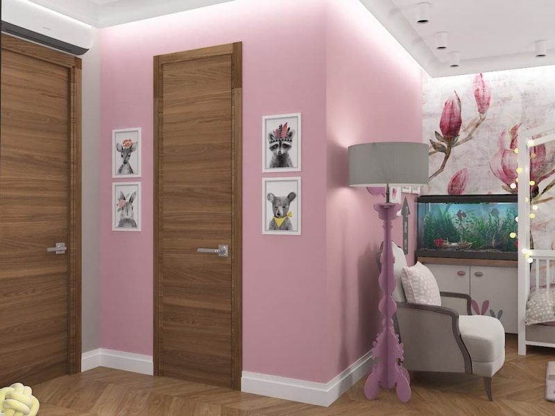 Дизайн детской комнаты для двух девочек - проект 4 фото 5
