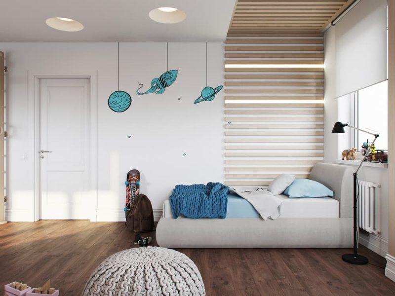 Дизайн комнаты для девочки и мальчика подростков - фото 2