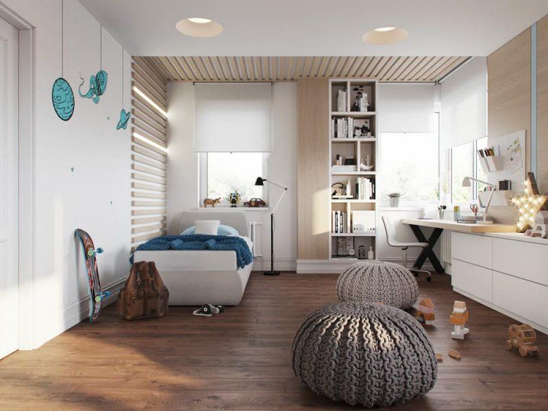 Дизайн комнаты для девочки и мальчика подростков - фото 4