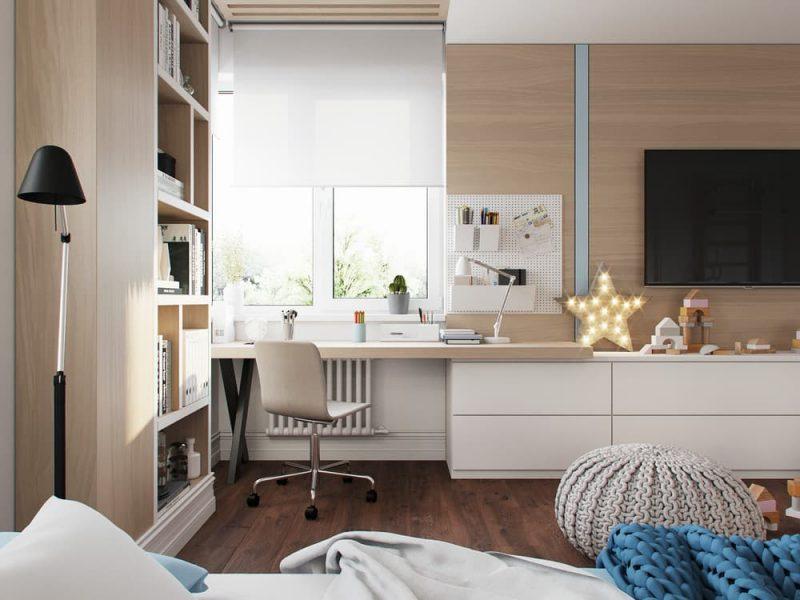 Дизайн комнаты для девочки и мальчика подростков - фото 5