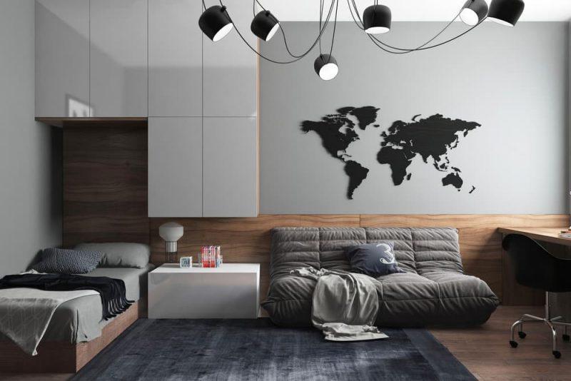 Дизайн комнаты для подростка мальчика 10 лет - фото 1