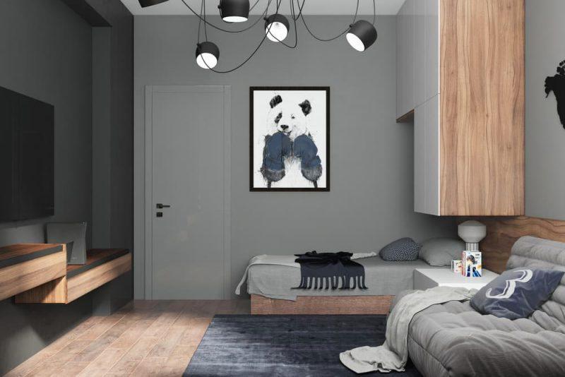 Дизайн комнаты для подростка мальчика 10 лет - фото 2
