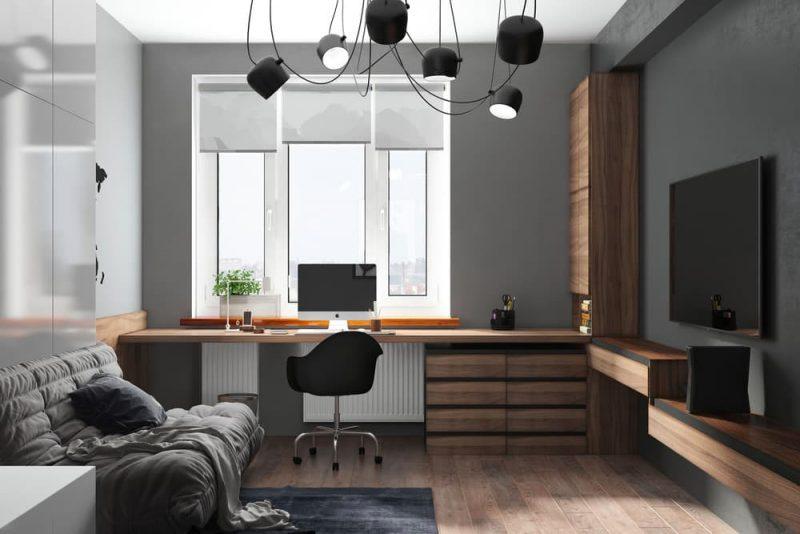 Дизайн комнаты для подростка мальчика 10 лет - фото 4