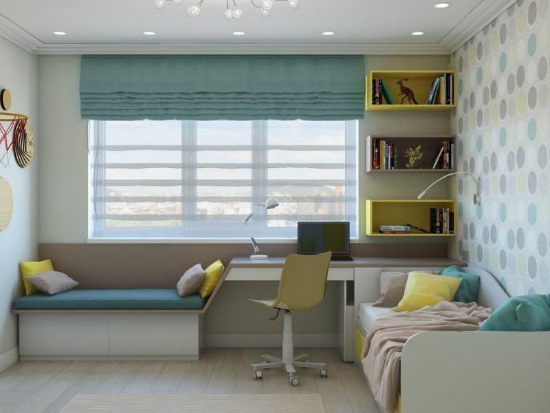 Дизайн комнаты для подростка мальчика 12 лет - фото 1