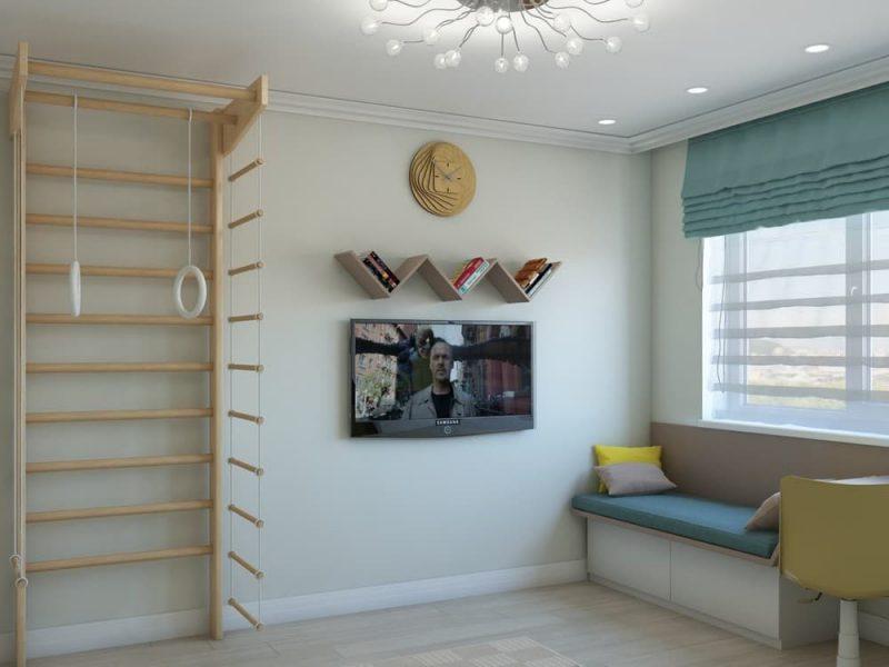 Дизайн комнаты для подростка мальчика 12 лет - фото 2