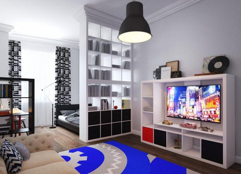 Дизайн комнаты для подростка мальчика 16 лет - проект 3 фото 1