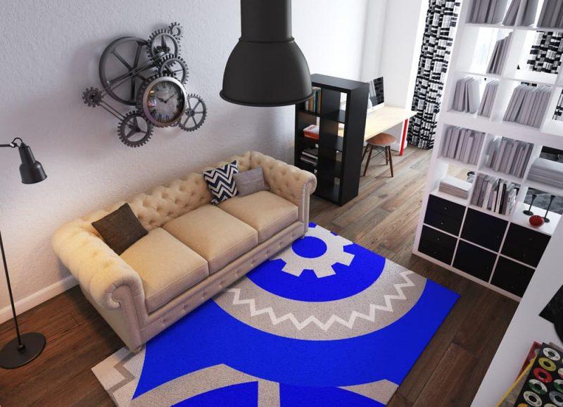 Дизайн комнаты для подростка мальчика 16 лет - проект 3 фото 2