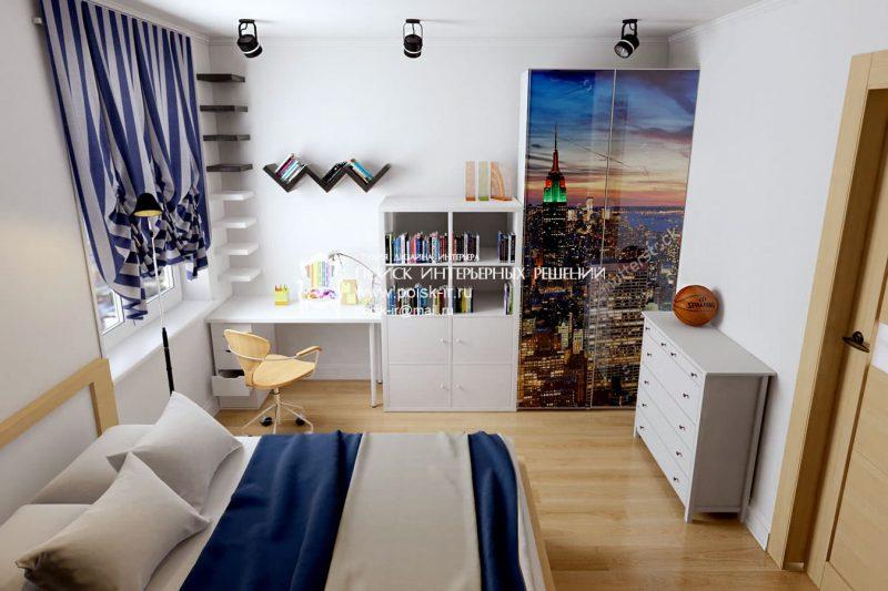 Идеи интерьера комнаты для подростка - фото 10