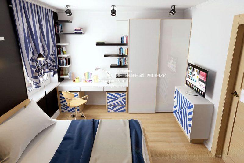 Идеи интерьера комнаты для подростка - фото 11