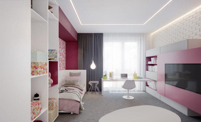 Идеи интерьера комнаты для подростка - фото 12