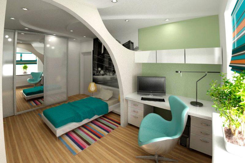 Идеи интерьера комнаты для подростка - фото 2