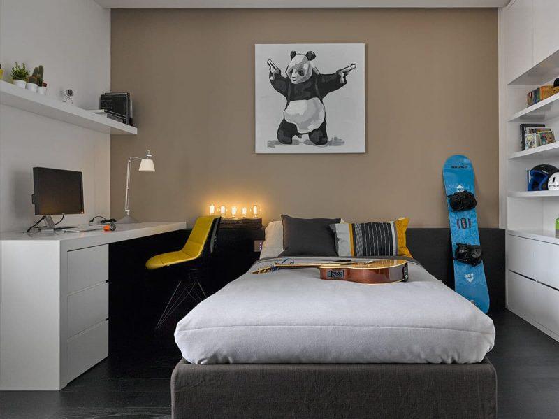 Идеи интерьера комнаты для подростка - фото 4
