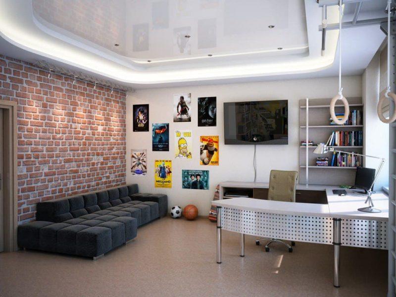 Идеи интерьера комнаты для подростка - фото 5