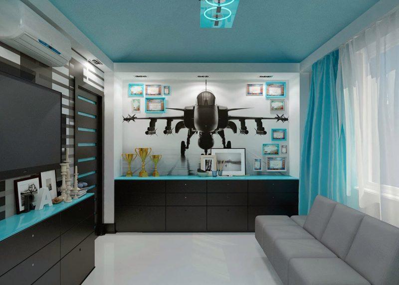 Идеи интерьера комнаты для подростка - фото 6