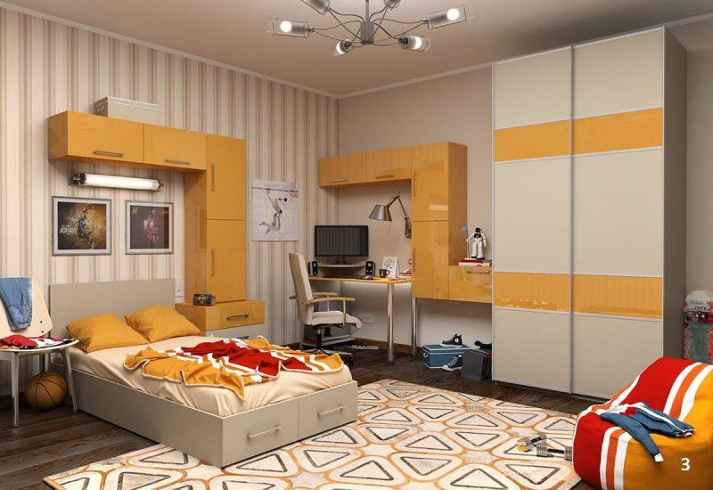 Идеи интерьера комнаты для подростка - фото 7