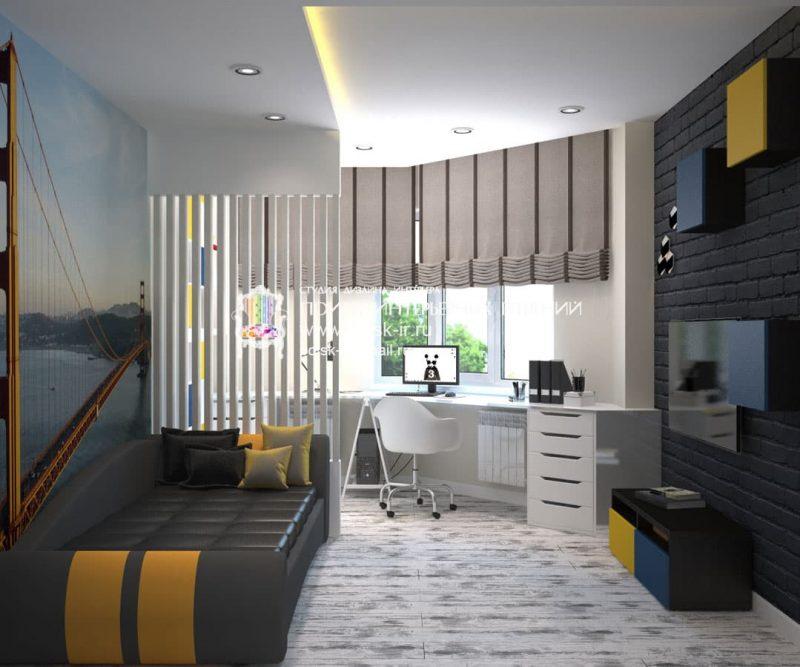 Идеи интерьера комнаты для подростка - фото 8