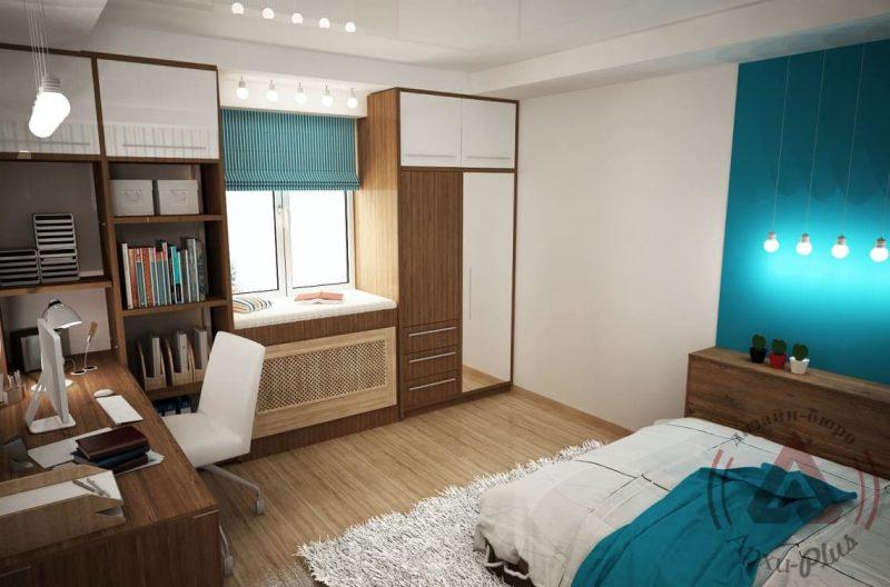 Идеи интерьера комнаты для подростка - фото 9