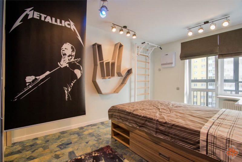 Комната для подростка мальчика - дизайн 1 фото 1